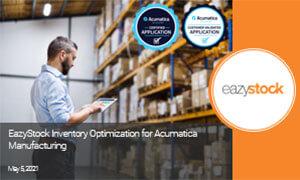 On-Demand Webinar Inventory Optimization for Acumatica Manufacturing Thumbnail