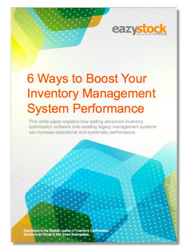 Whitepaper 6 Ways to Boost Your Inventory Management System Performance