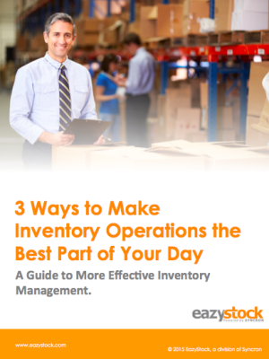 eBook 3 Ways to Make Inventory Operations the Best Part of Your Day